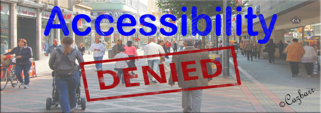 Accessibility Denied logo