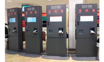 Argos self checkout machines too high