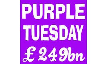 Purple Tuesday, is it worth it?