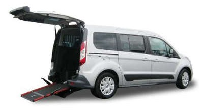 Ford Tourneo WAV - Disabled people:  Brand New Car Every Three Years!