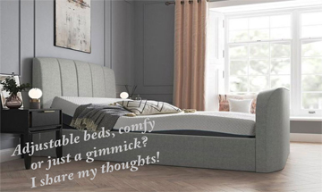 Comfortable Nights Sleep?:  Adjustable Bed