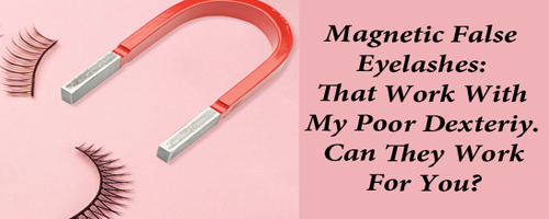 False lashes with magnet