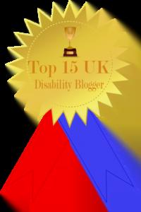 Award top15 UK blogger