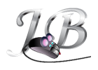 Letters JB together with a computer mouse in front that has pink mouse ears